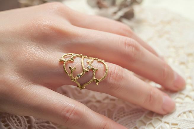 Garni Morning Dew 18K Ring