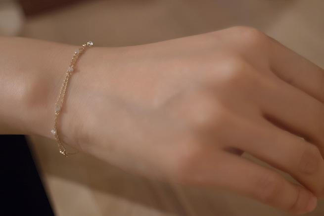 Rough Diamond Bracelet/Anklet