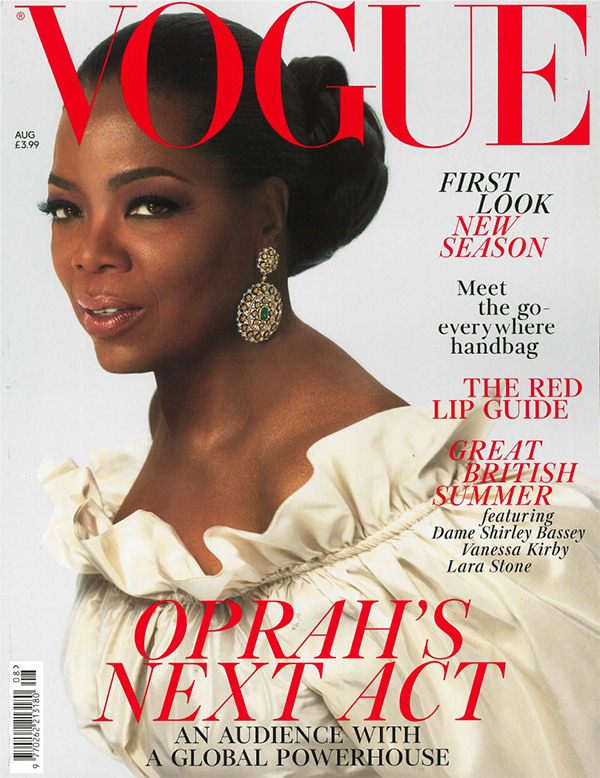 British Vogue 2018 Aug. cover